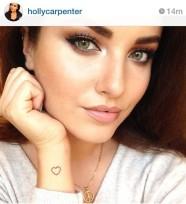 Glitz N Pieces €21.50 - Peace Symbol Necklace Luxury Range http://bit.ly/1FSCRmR As seen on Miss Ireland 2011 & model Holly Carpenter
