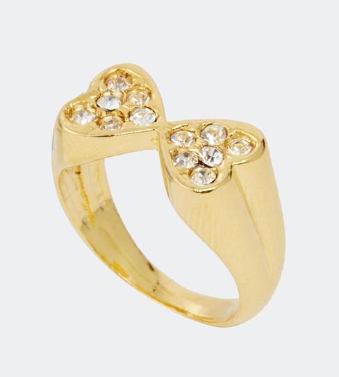 Susan Caplan Vintage €4.29 - Joined Heart Ring http://bit.ly/1z9J1Jx