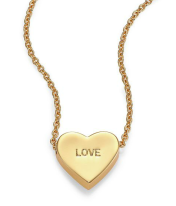 Kate Spade €53.73 - Dear Valentine Love Heart Pendant Necklace http://bit.ly/1LLE9US