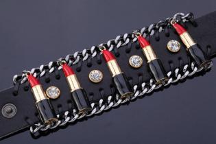 YesStyle €43.68 - Red Lips Around You Bracelet