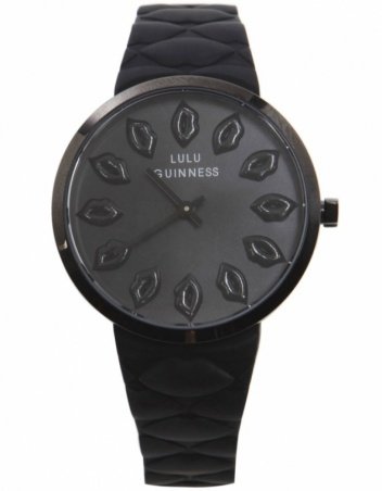 Lulu Guinness €213.25/£159.99 - Quilted Lips Watch http://bit.ly/1zAytXs