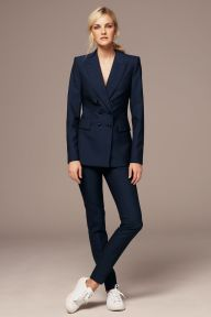 Next from €54 - Navy Wool Blend Double Breasted Jacket & Slim Trousers http://ie.nextdirect.com/en/g4140s3#363438