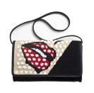 Sarah's Bags €272.93 - Lips Beaded Canvas Clutch http://bit.ly/18N6QSc