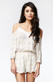 Kendall & Kylie €49.53 - Cold Shoulder Romper http://bit.ly/19paiDe