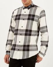 Ecru Check Oversized Shirt €14 http://bit.ly/1IfSqpN (limited stock)