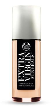 The Body Shop €23.95 - Extra Virgin Minerals Liquid Foundation http://bit.ly/18llXl8