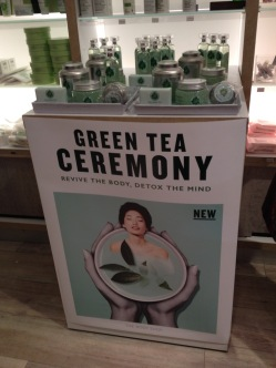 Killer Fashion The Body Shop Green Tea Ceremony