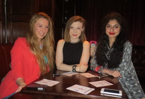 Aisling, Melissa and Manal