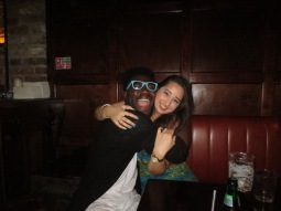 Timi and I, we're the best of buddies!