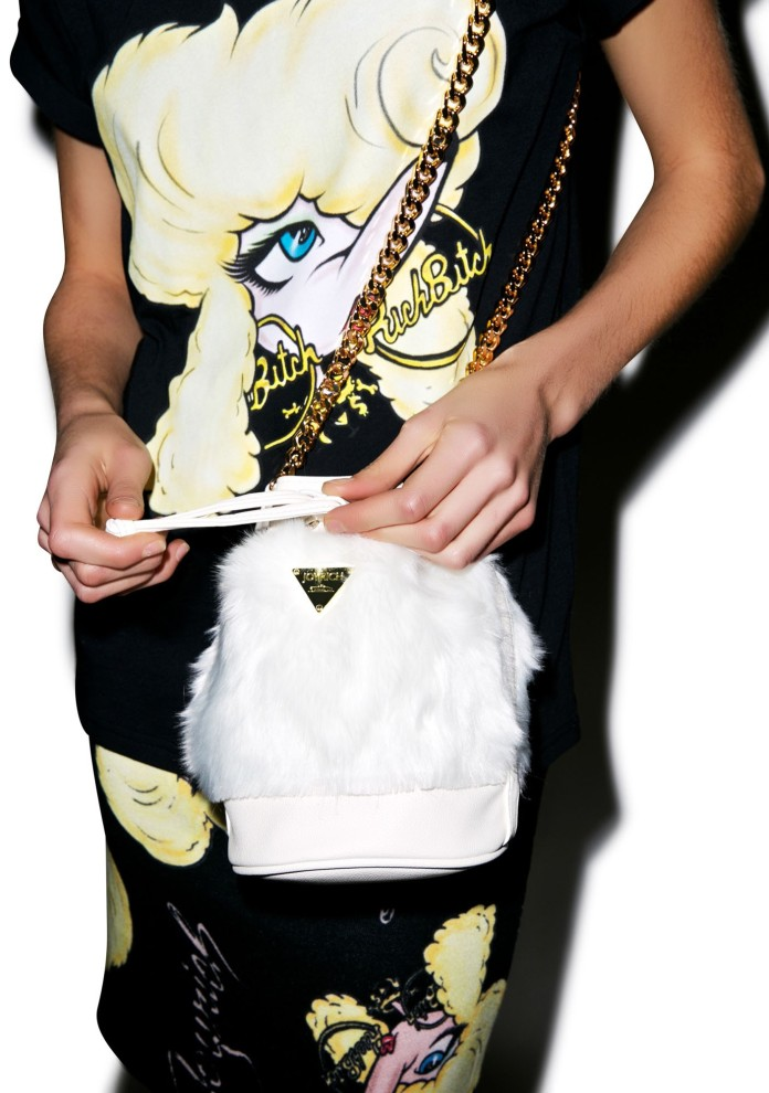 Joyrich €152.43 - Candy Fur Mini Bucket Bag http://bit.ly/1BGMAvf