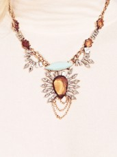 Dahlia €44.95/£32 - Antique Style Multi-Jewels Statement Collar Necklace http://bit.ly/1Ehdj06