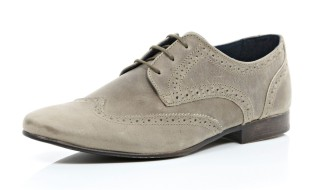 Stone Suede Lace Up Brogues €67 http://bit.ly/1R6s1Q4