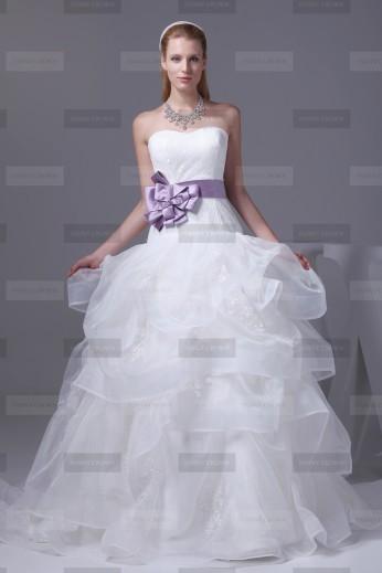 Fanny Crown €419 - Beautiful Sweetheart Long White Wedding Dress http://bit.ly/1BVTC0F