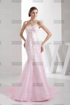 Fanny Crown €409 - Sublime Sweetheart Long Candy Pink Wedding Dress http://bit.ly/1CtX17k