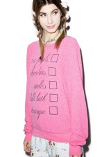 Wildfox Cuture €95.27 - Romantic Night Baggy Beach Jumper http://bit.ly/1FkyW3n