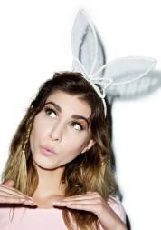 Dolls Kill €16.19 - Play With Me Bunny Headband http://bit.ly/1MCIrNS