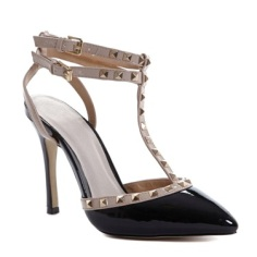 Dunnes Stores €40 - Savida Studded Court Shoes http://bit.ly/1NBEF5Q
