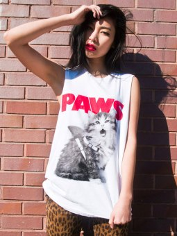 Alex And Chloe €36.33 - Paws T-shirt http://bit.ly/1be0o7g