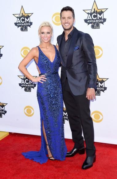 Caroline Boyer & Luke Bryan