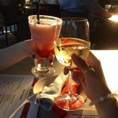 Z'Tejas - Frozen Chambord Margarita & House White Wine
