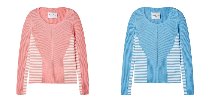 Henry Todd £395/€559 - Striped Cashmere Sweater (not yet available online)
