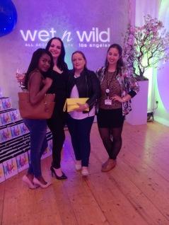 (L-R) Filomena, Nadine, Gail and I