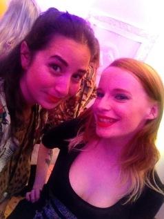 Myself and Amy McLoughlin