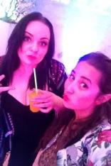 Nadine and I