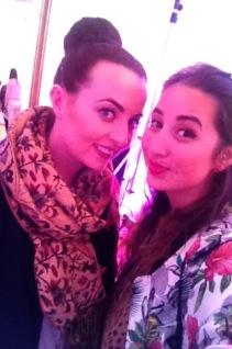 Emma Sheehan and I