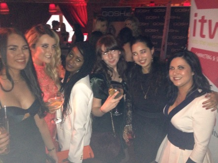 (L-R) Mei Ling, Lorna, Filomena, Sarah, myself and Sineád