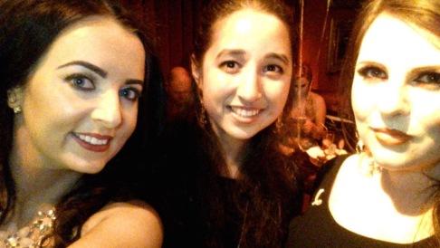 Emma, myself and Lainey