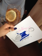 My personal illustration by Miss Magpie Fashion Spy