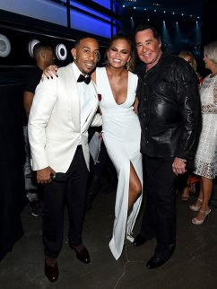 Ludacris, Chrissy Teigen & Wayne Newton