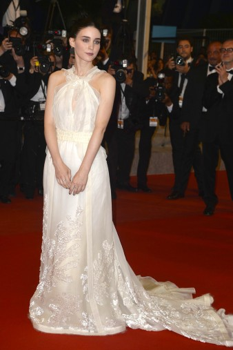 Rooney Mara in Olivier Theyskens for Rochas