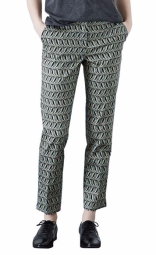 Warehouse €36 - Leaf Print Trousers http://bit.ly/1IFkd4Z