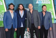 Chris Thompson, James Young, Jon Jones & Mike Eli of Eli Young Band