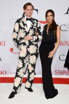 Hamish Bowles & Victoria Beckham