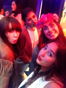 (L-R) Sarah, Kassi, Jessika and I