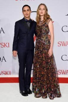 Zac Posen & Maya Thurman-Hawke