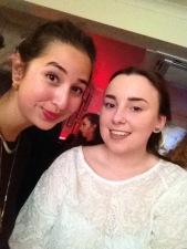 Myself and Emily