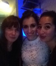 Sarah, Kassi and I