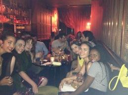 (L-R) Myself, Laura, Sarah, Kassi, Mei Ling and Filomena