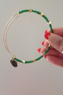 Alex & Ani - Kelp Odyssey Beaded Bangle