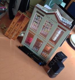 Ted Baker nail polish set, Yves Saint Laurent Eyeliner Faux Effet Cils and NARS nail polish