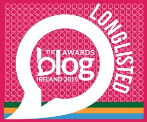 Blog Awards Ireland 2015 Longlisted