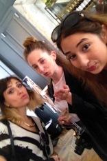 Kassi, Niamh and I