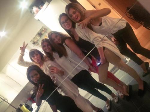 (L-R) Filomena, Kassi, Kallia, myself, Mei Ling & Lorna