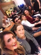 (L-R) Lorna, Gail, Antonis, Kassi and I