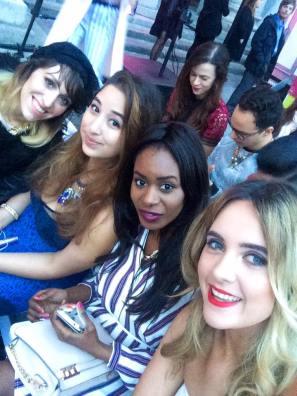 (L-R) Kassi, myself, Filomena and Lorna