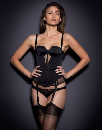 Agent Provocateur €715 - Sonia Corset http://bit.ly/1F2zSwo